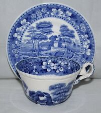 Copeland - Spode's Tower - Tea Cup and Saucer - Oval Mark - 1925/vgc