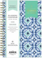 New Listing2022 Day Designer Weeklymonthly Planner 5 X 8 Blue Tiles 101410 22