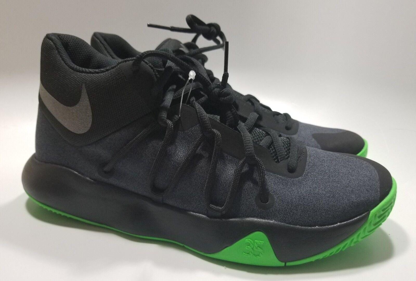 Männer - nike kd trey / basketball - schuhe schwarz / grün schwarze feder 897638-003.