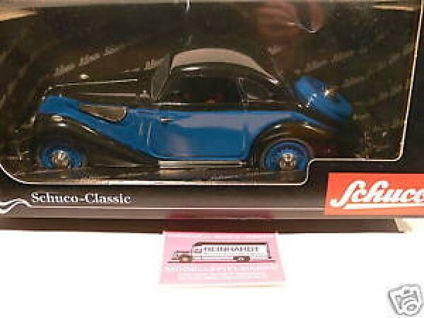 1 18 Schuco BMW 327 Coupe black blue 00021