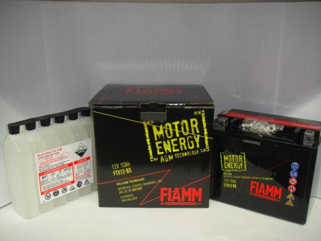 Batería Fiamm Motor Energy FTX7A-BSYAMAHA XC Flyone 150 1994 1995 1996 1997