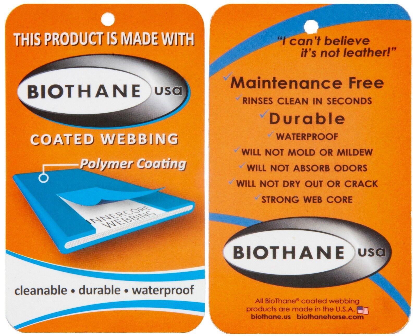BioThane ® Issa cuciti, tutti i i i cani dimensioni, Acciaio Inox Moschettone, fascetta da polso 141166