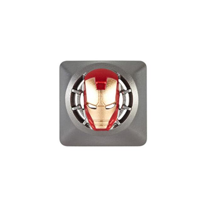 MARVEL AVENGERS Spider-man Symbol Custom Metal Keycap for Mechanical Keyboard