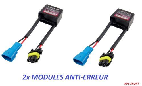 2x Module Boitier Anti Erreur OBD CANBUS  SAAB 9-3 YS3F