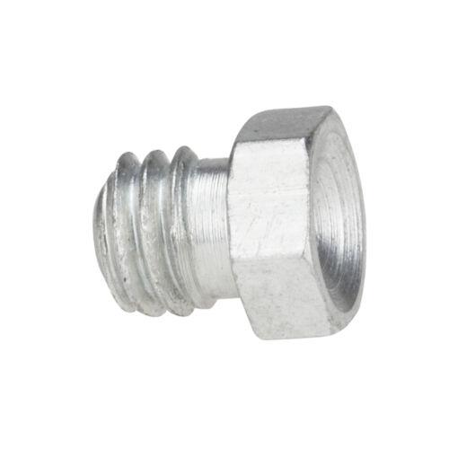M6 x 1,0 [10 Stück] DIN 3405 D1 Trichterschmiernippel Stahl verzinkt