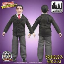 "Three Stooges Shemp in Suit Brideless Groom 8"" Retro Action Figure Toy Company"