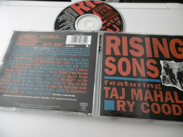 Rising Sons Featuring Taj Mahal And Ry Cooder CD Album 22 Canzoni Candy Man