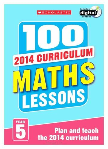 1 of 1 - 100 Maths Lessons: Year 5 - 2014 National Curriculum - Includes a CD-ROM