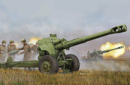 02333 Trumpeter 1 35 Scale Model Soviet D-20 152mm Towed Gun-Howitzer Static