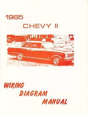 1965 CHEVY II WIRING DIAGRAM MANUAL | eBay