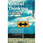 Critical Thinking: An Introduction to Reasoning Well by Robert Arp, Jamie Carlin Watson (Hardback, 2015)