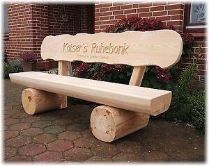gartenbank aus holz hochzeitsgeschenk gartenbank mit gravur name ruhebank ebay. Black Bedroom Furniture Sets. Home Design Ideas