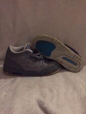 Nike Air Jordan 3 Retro III GS Flip Cool Grey Blue Glow V 441140-015 3lab cement