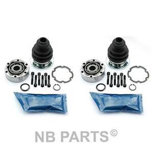2x-Gelenksatz-Antriebswelle-getriebeseitig-Audi-80-A4-B5-A6-Avant-VW-Passat-3B