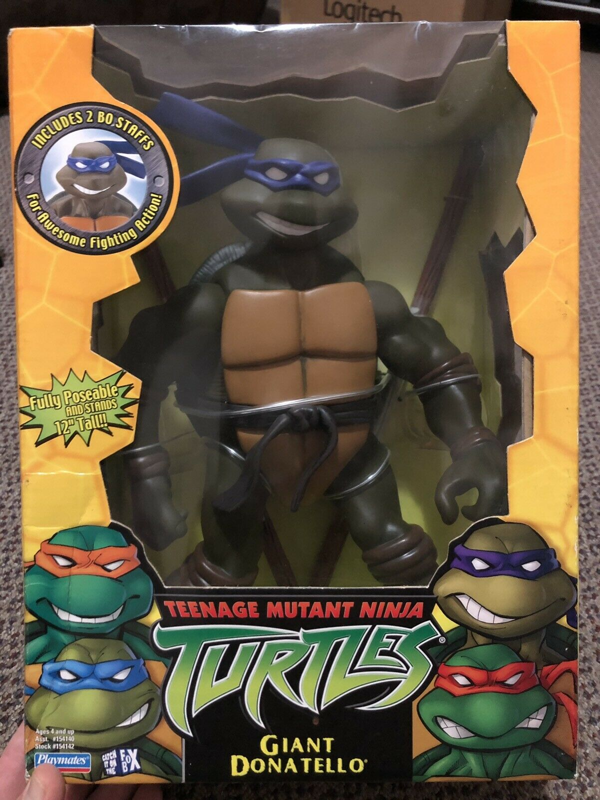 Tmnt 2003 Giant Donatello (WATCH THIS SPACE)