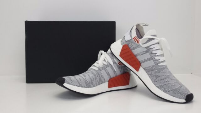 ec5b110c8daf Adidas NMD R2 PK Primeknit Nomad Runners White Black BY9410 - BRAND NEW IN  BOX!