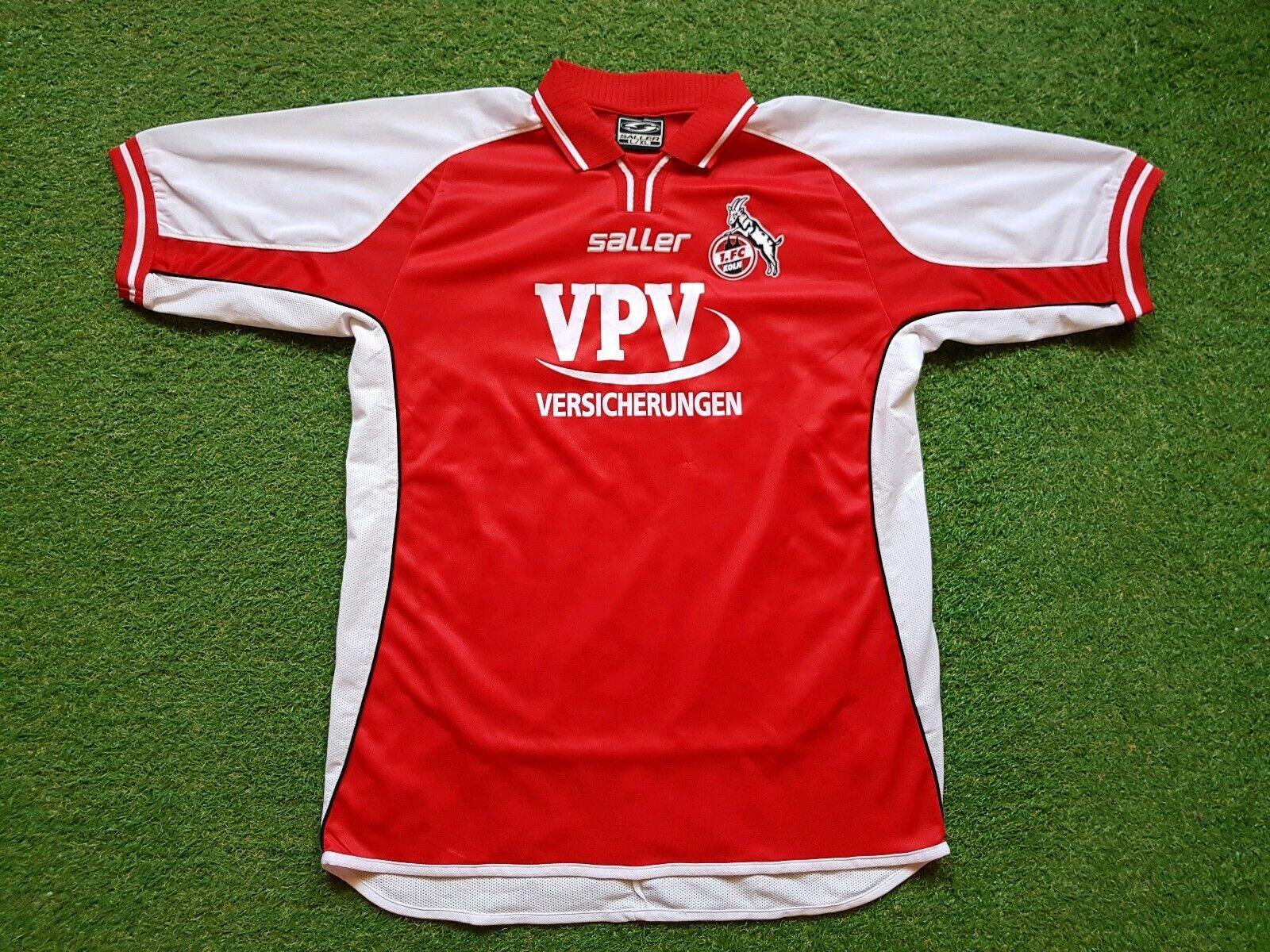1. FC Köln Camiseta L XL 2000 2001 Saller Camiseta Jersey Vpv Versicherungen