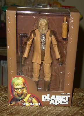 """Classic Series 1-7/"""" Scale Figure Planet of the Apes Zaius Dr NECA"""