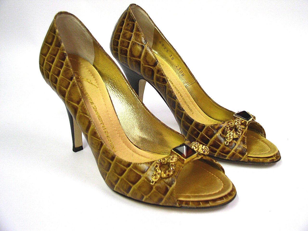 vendita di offerte GIUSEPPE ZANOTTI VICINI Taz 90 Sandal Raffa Raffa Raffa Cucio Dimensione 8B U.S., 38-39 Eur,6 UK  risparmia fino al 30-50% di sconto