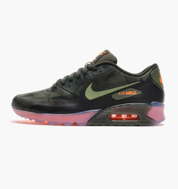 El cielo boxeo Asser  Nike Air Max 90 ICE QS Camouflage UK 6 US 7 Eur 40 25cm Army Green Trainers  for sale