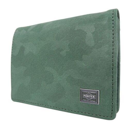 New F//S Yoshida PORTER WONDER COIN CASE 342-03842 Green From Japan