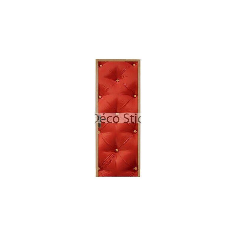 Adesivo per Porta Semplice Effetto Trapuntato 93x204cm Ref 313 6e3e3f73120a