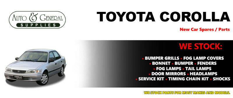 Toyota Corolla AE100 Parts and Spares For Sale.