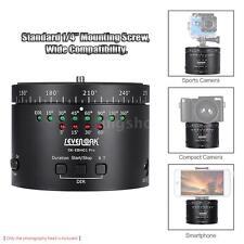 Sevenoak 360° Panoramic Electronic Rotating Tripod Head Time Lapse Stabilizer
