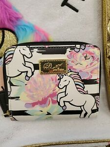 Betsey-Johnson-Luv-Betsey-Unicorn-Print-Wallet