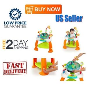 Evenflo Baby Bouncer Jumper Exersaucer Learning Activity Center Child Exercise
