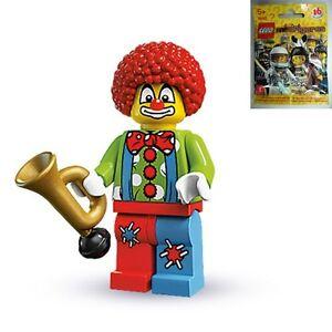LEGO-8683-MINIFIGURES-Series-1-04-Circus-Clown-SEALED