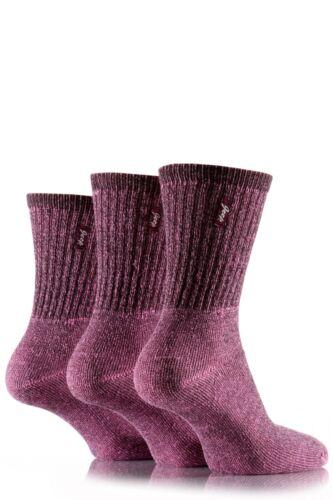 Ladies 3 Pair Jeep Vintage Socks