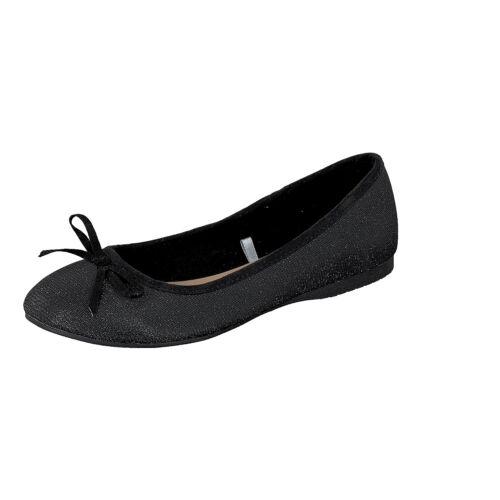 Summer Jane Black 993 Boots Glamour Klain Ladies Glitter Ballerine 221 wCxrHIqCO