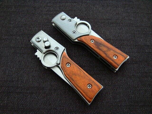 100x Klappmesser Silber Braun Einhandmesser Einhandmesser Einhandmesser Taschenmesser CCCP Rusland ANGEL EU  | Zu einem erschwinglichen Preis  e346f5