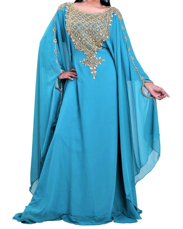 MgoldCCAN DUBAI KAFTANS ABAYA DRESS VERY FANCY LONG GOWN MS1019900