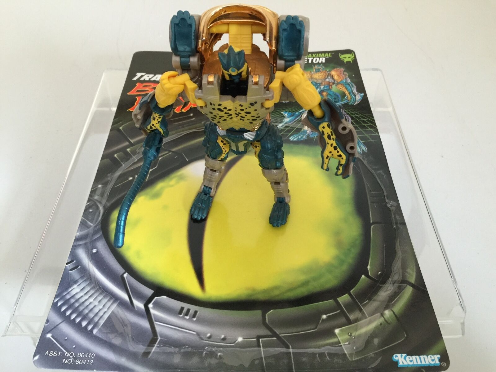 Transformers BEAST WARS 1997 CHEETOR complete figure fuzors kenner