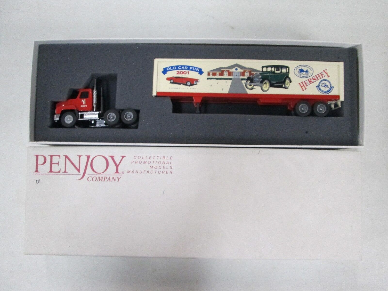 Penjoy Company 2001 Hershey Auto Museum 1 64 scale scale scale 2b0696