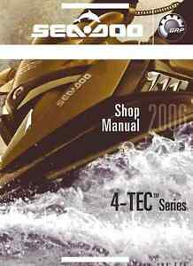 sea doo pwc 2006 gti gtx rxp rxt wake service manual in 3 ring rh ebay com Red and White Sea-Doo RXT 215 Sea-Doo GTX 215