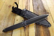 """Cold Steel 13Q Tai Pan 13"""" Double Edge Dagger DLC 3-V Blade & Secure-Ex Sheath"""