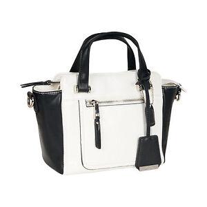 Handtasche AUDREY schwarz-weiß - (26108758 TAN COMBI / BEIGE)
