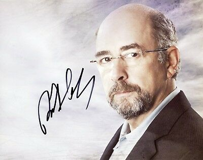"Ingenious ~~ Richard Schiff Authentic Hand-signed ""man Of Steel"" 8x10 Photo ~~ Entertainment Memorabilia"