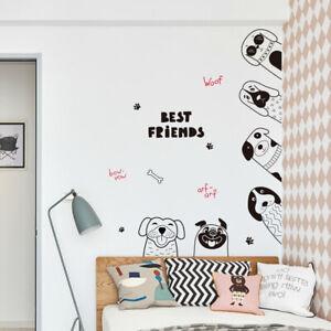 Dettagli su Adesivi Murali Porta Camera da Letto Per la Decorazione della  Camera dei Bambini