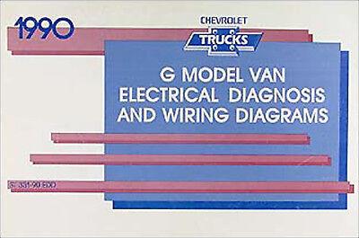 1990 chevy g van wiring diagram manual g10 g20 g30 sportvan electrical  chevrolet | ebay  ebay