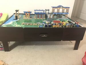 Imaginarium City Central Train Table With 2 Drawers Ebay