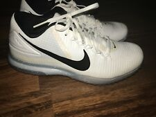 a53375871ab item 8 Nike Zoom Trout 3 Turf Baseball Cleats Shoes White Black Mens sz 9  844628-110 -Nike Zoom Trout 3 Turf Baseball Cleats Shoes White Black Mens  sz 9 ...