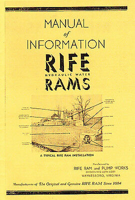 Rife Ram Catalog 1919 reprint