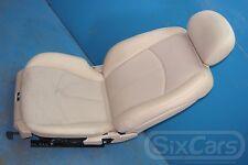 Mercedes E-Kl W211 Beifahrersitz Sitz Teilleder Beige vorne rechts ohne Airbag