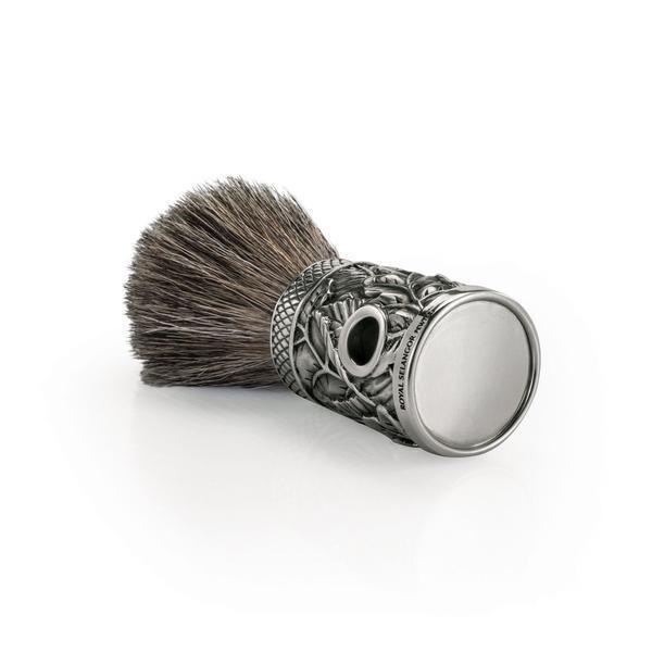 Royal Selangor Pewter Woodland Shaving Brush Boxed - Perfect  Herren Gift