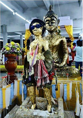 Kuman Thong Thai Amulets Holy Powerful Magic Talisman Lucky Wealthy Rich Money