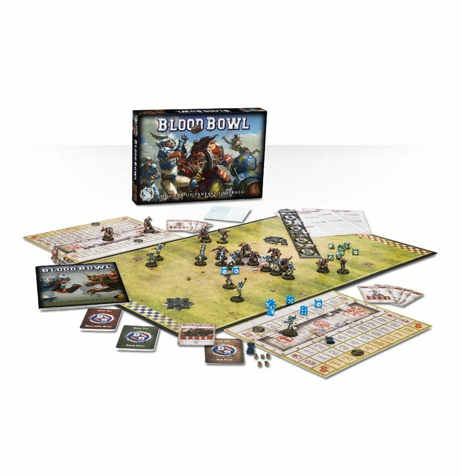 Blood Blood Blood Bowl Game 2016 Edition 2 player Games Workshop Warhammer. 20% off UK rrp. ec9aaa